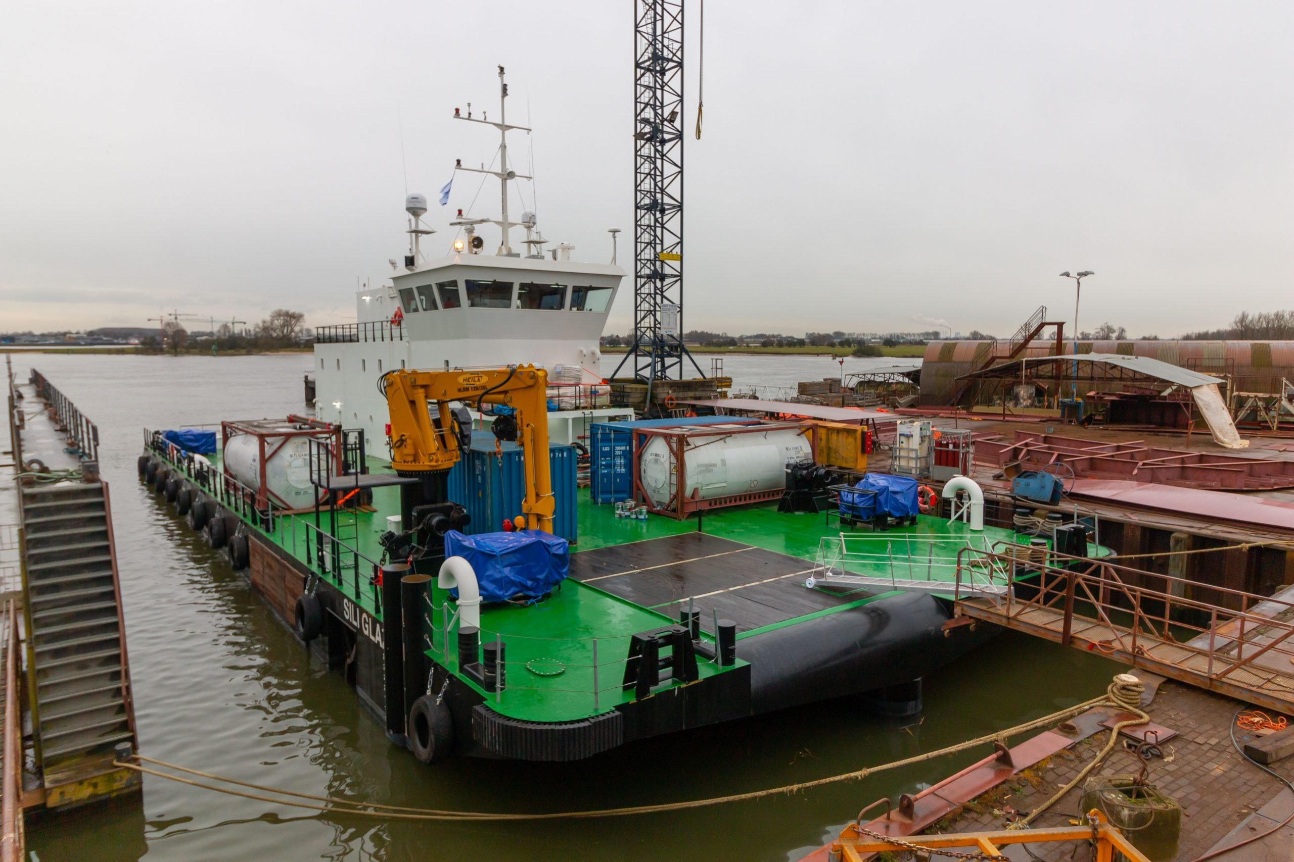 Diving Support Barge